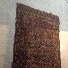 Antigüedades: DECORATIVA ALFOMBRA CAUCÁSICA TURKMENISTÁN GEOMÉTRICA 164X117CMS. Lote 118150471