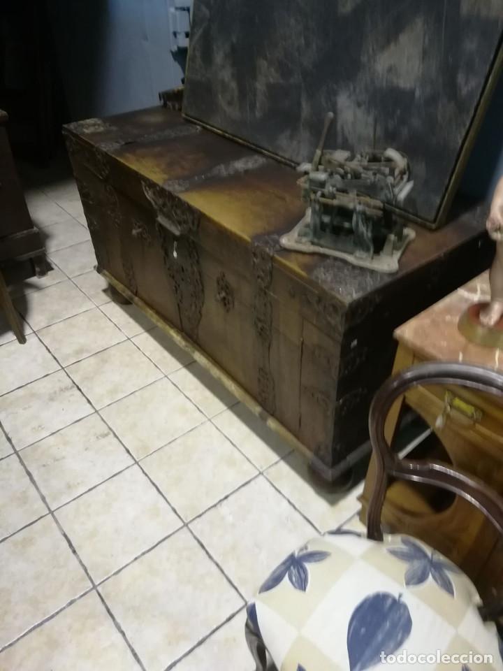 Antigüedades: ARCON DE ROBLE ALEMAN, FINALES DEL SIGLO XVII O PRINCIPIOS DEL XVIII - Foto 4 - 118251151