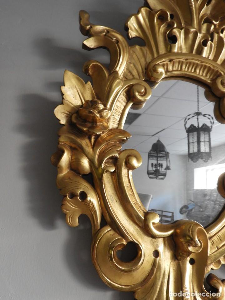 Antigüedades: FANTASTICAS CORNUCOPIAS ANTIGUAS S. XIX LUNA ORIGINAL - Foto 10 - 118270759