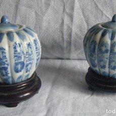 Antigüedades: POTICHES CHINOS. SIGLO XX. Lote 118271023