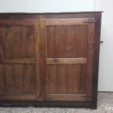 Antigüedades: ARMARIO DE MADERA RÚSTICO. Lote 118289663