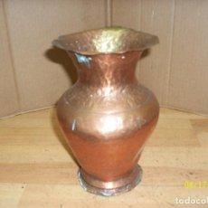 Antigüedades: ANTIGUO JARRON DE COBRE. Lote 118303835