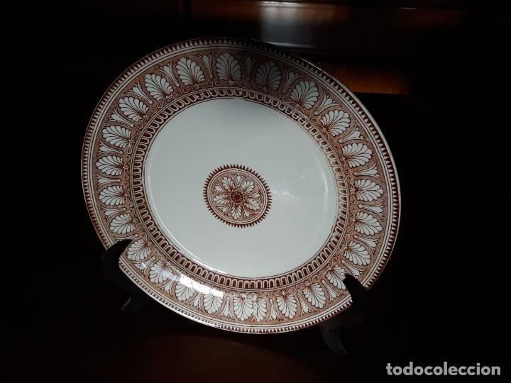 PLATO ANTIGUO PICKMAN SEVILLA LA CARTUJA (Antigüedades - Porcelanas y Cerámicas - La Cartuja Pickman)