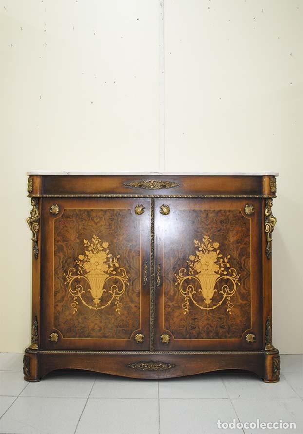 Antiguo mueble recibidor entred s marqueter a c vendido - Recibidor segunda mano ...