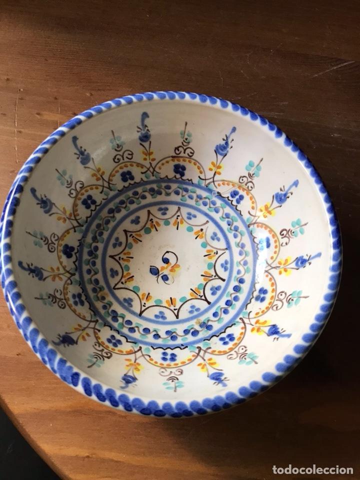 Antigüedades: Cuenco de cerámica de Sevilla - Foto 3 - 118356494
