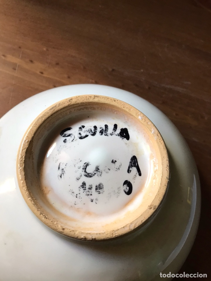 Antigüedades: Cuenco de cerámica de Sevilla - Foto 4 - 118356494