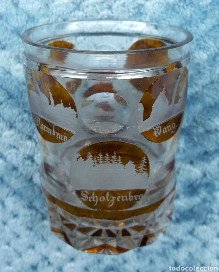 PRECIOSO VASO (Antigüedades - Cristal y Vidrio - Bohemia)
