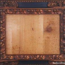Antigüedades: MARCO EN MADERA TALLADA. ESTILO NAPOLEÓN III. SIGLO XIX-XX. . Lote 118362927