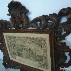 Antigüedades: MARCO ANTIGUO DE MADERA . Lote 118381791