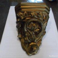 Antigüedades: MENSULA DE ESCAYOLA.. Lote 118402443