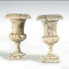 Antigüedades: PAREJA DE COPAS DEL SIGLO XIX. Lote 118453604