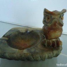 Antigüedades: CENICERO BUHO. Lote 118470847