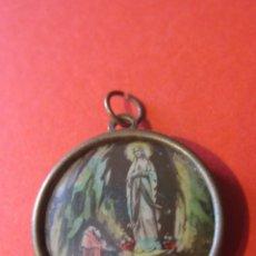 Antigüedades: ANTIGUA MEDALLA DE NTRA. SRA. DE LOURDES.. Lote 118474987