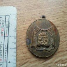 Antigüedades: MEDALLA ANTIGUA SANTA FAZ, SANTO ROSTRO. HONRUBIA, CUENCA. Lote 118477579