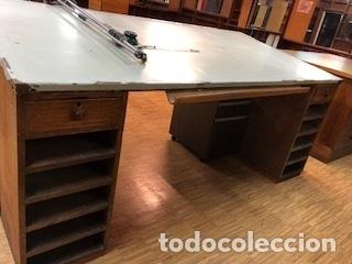 Antigüedades: Mesa Madera Dibujo(1200€) - Foto 10 - 104304859