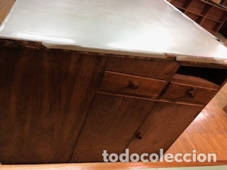 Antigüedades: Mesa Madera Dibujo(1200€) - Foto 11 - 104304859