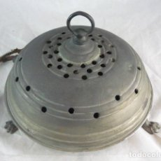 Antigüedades: BRASERO ELECTRICO TIPO OVNI - RARO - COMPLETO ORIGINAL. Lote 118534515