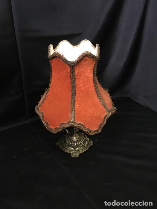 Antigüedades: Lámpara de mesa de bronce vintage - Decoración de mesa - Foto 3 - 118554983