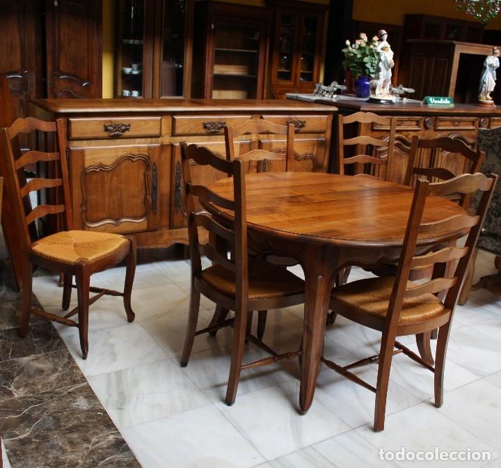 mesa de comedor, provenzal, de 1900. ref. 6210 - Kaufen Antike ...