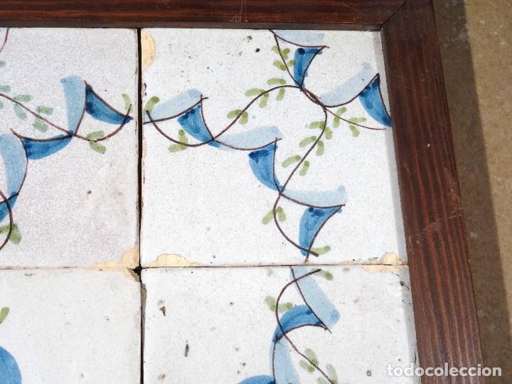 Antigüedades: Cuadro Azulejos Catalanes S.XIX - Foto 2 - 118607111