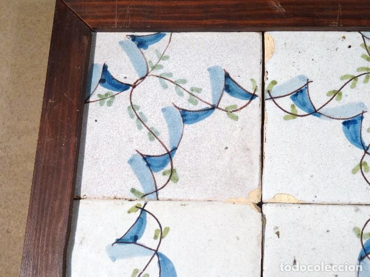 Antigüedades: Cuadro Azulejos Catalanes S.XIX - Foto 3 - 118607111