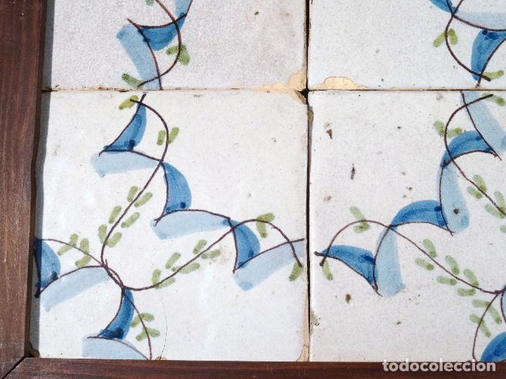 Antigüedades: Cuadro Azulejos Catalanes S.XIX - Foto 4 - 118607111