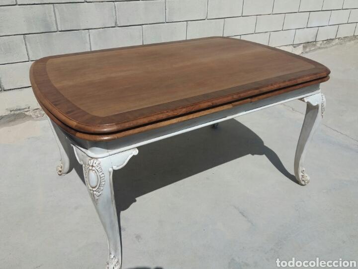 antigua mesa de comedor restaurada - Comprar Mesas Antiguas en ...