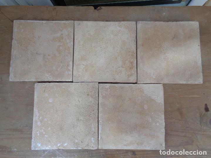 Antigüedades: CINCO AZULEJOS.VALENCIA SIGLO XIX.B002 - Foto 2 - 118618079