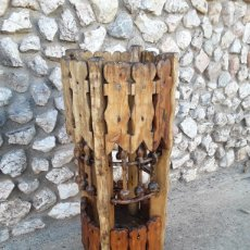 Antigüedades: MACETERO PARAGUERO .. Lote 118630159