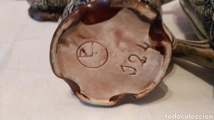 Antigüedades: IMPRESIONANTE JUEGO DE CERVEZA, CON ENORME JARRA, ACOMPAÑADA DE SUS SEIS JARRAS, VER, ÚNICO - Foto 10 - 118648483