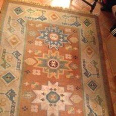 Antigüedades: ALFOMBRA DE LANA KILIM .2 X 140.. Lote 118667071