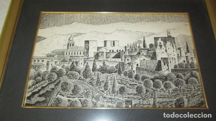 Antigüedades: ALHAMBRA DE GRANADA A PLUMILLA - Foto 5 - 118668303