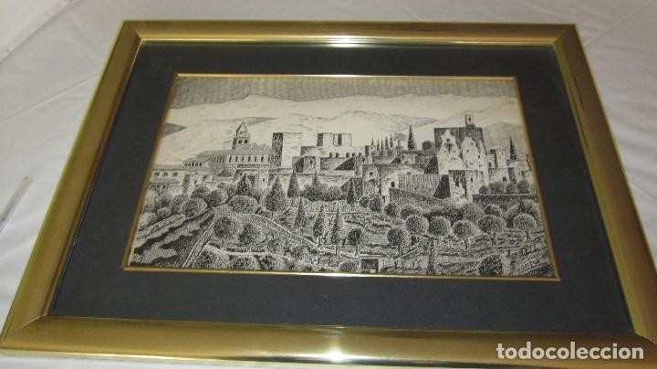 Antigüedades: ALHAMBRA DE GRANADA A PLUMILLA - Foto 6 - 118668303