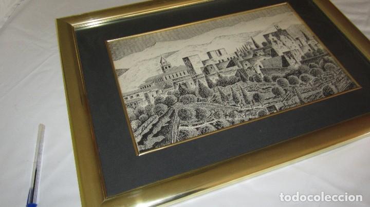 Antigüedades: ALHAMBRA DE GRANADA A PLUMILLA - Foto 7 - 118668303