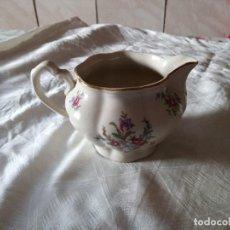 Antigüedades: BONITA LECHERA DE PORCELANA CHODZIE? MADE IN POLAND. Lote 125834379