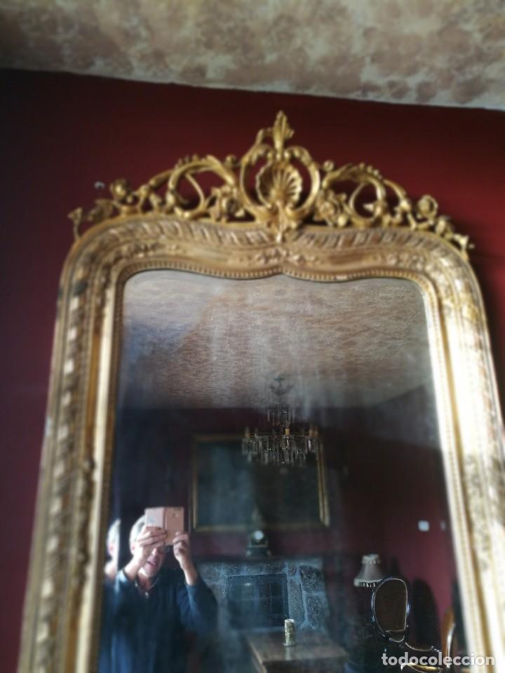 Antigüedades: Consola con espejo dorado - Foto 7 - 118675483
