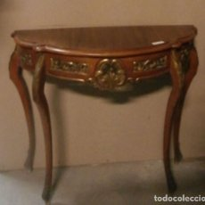 Antigüedades: CONSOLA DE MADERA DE LOS AÑOS 40. Lote 118679883