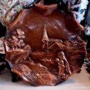 Antigüedades: ORIGINAL PLATO FRANCES DE COBRE REPUJADO - 29 CM. Lote 118680679