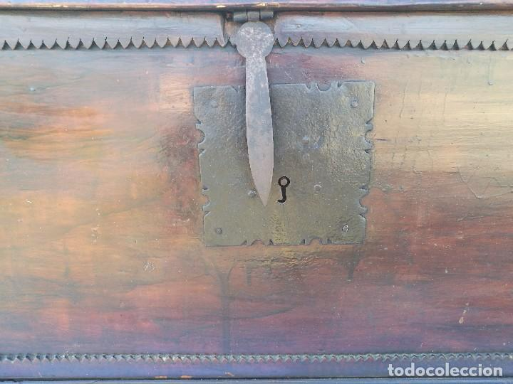 Antigüedades: ARCA-ARCÓN-BAÚL ANTIGUO - Foto 5 - 118682335