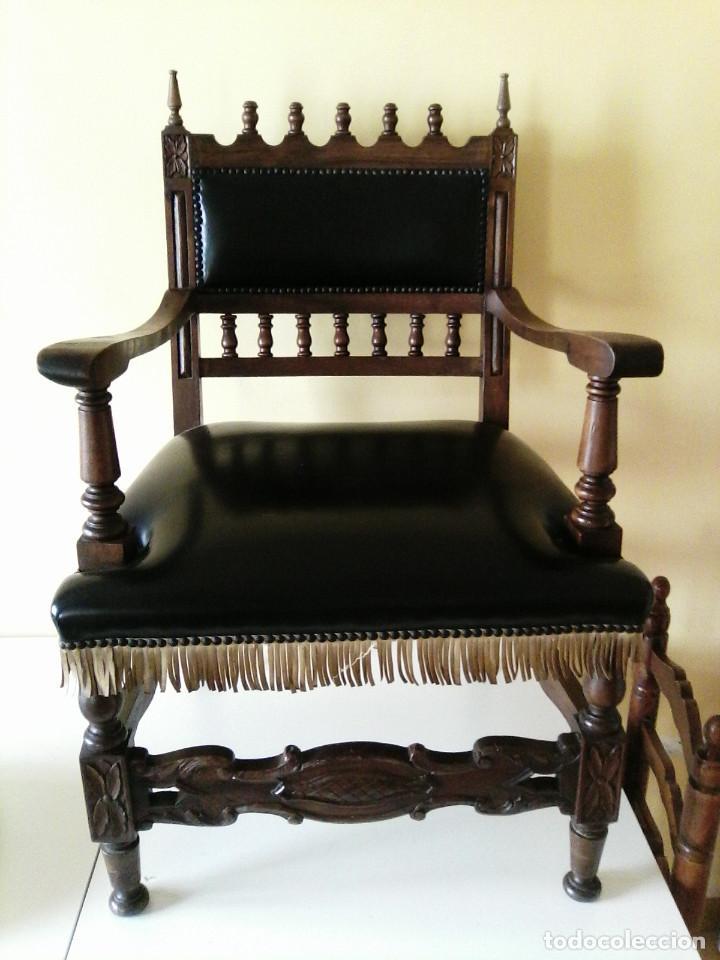 SILLÓN FRAILERO (Antigüedades - Muebles Antiguos - Sillones Antiguos)