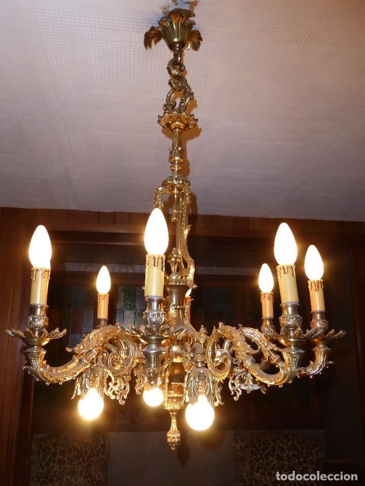 lámpara techo comedor años 50 - Comprar Lámparas Antiguas en ...