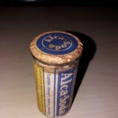Antigüedades: ANTIGUO TARRO DE MEDICAMENTO ALCA-SODA. Lote 118705952