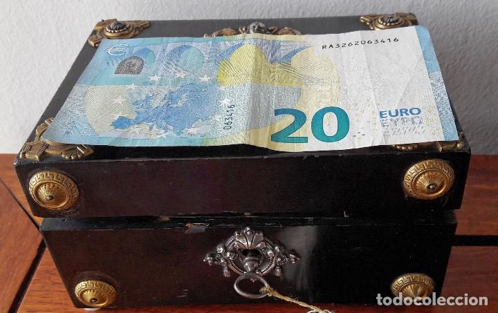 Antigüedades: Caja francesa estilo Napoleon III. Siglo XIX - Foto 6 - 118738379