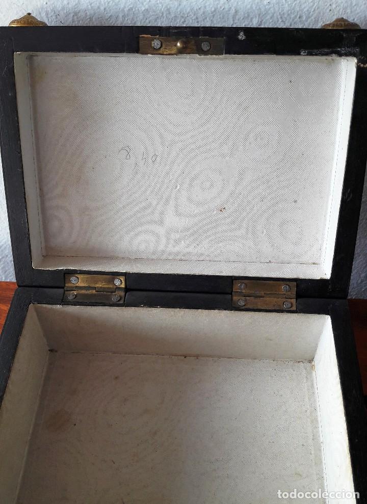 Antigüedades: Caja francesa estilo Napoleon III. Siglo XIX - Foto 7 - 118738379