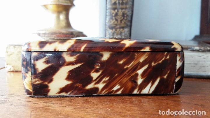 Antigüedades: Caja de rapé del siglo XIX - Foto 4 - 138957500