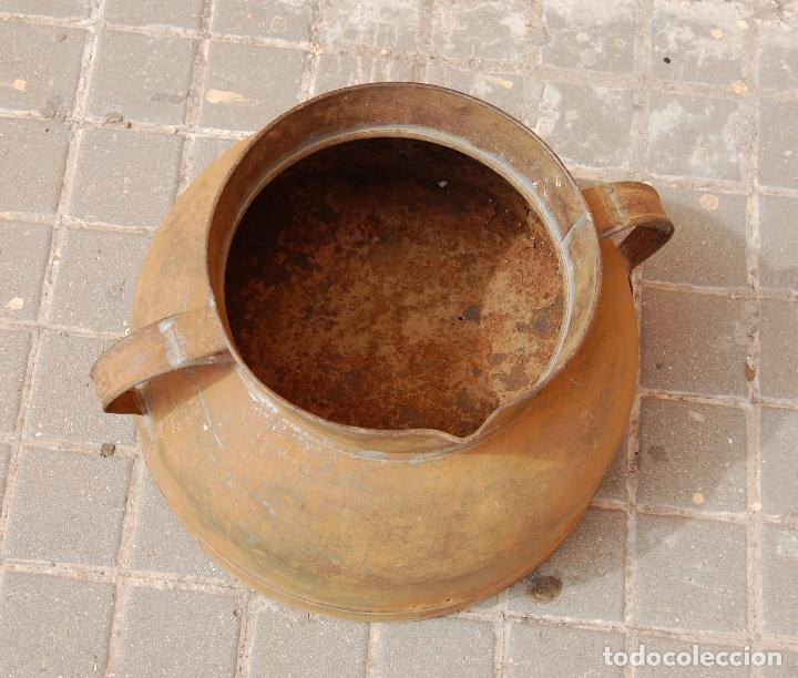Antigüedades: TARRO ANTIGUO DE ORDEÑO DE CHAPA - Foto 3 - 118753655