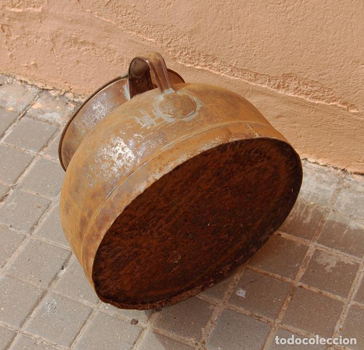 Antigüedades: TARRO ANTIGUO DE ORDEÑO DE CHAPA - Foto 4 - 118753655