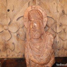 Antigüedades: CRISTO ROMÁNICO...HECHO POR LOS RESTAURADORES DEL CRISTO DE EMAUS.. SANTO DOMINGO DE SILOS . Lote 118762687