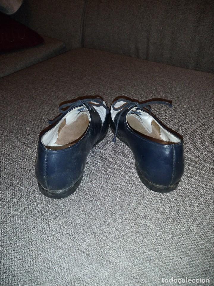 Antigüedades: antiguos zapatos de niño nº 25 en piel dos colores principios del siglo xx - Foto 3 - 118768199