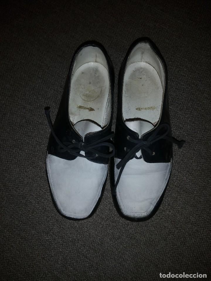 Antigüedades: antiguos zapatos de niño nº 25 en piel dos colores principios del siglo xx - Foto 4 - 118768199